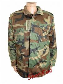 Куртка MIL-TEC М65 с подкладкой Woodland