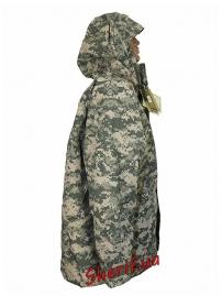 Куртка MIL-TEC ветро-влагозащитная с флисовой подстежкой ACU-2