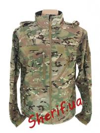 Куртка тактическая MIL-TEC SCU14 SoftShell Multicam