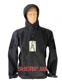 Куртка Shark Skin Soft Shell Black ESDY