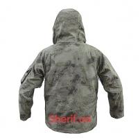 Куртка Shark Skin ветро-влагозащитная с флисовой подстежкой AT AU-2