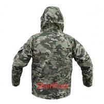 Куртка Shark Skin ветро-влагозащитная с флисовой подстежкой Multicam-2