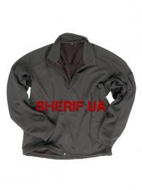 Куртка MIL-TEC Softshell триламинат, лёгкая Black