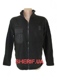 Куртка микрофлисовая Полиция Black
