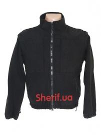 Куртка полицейская с флисовой подкладкой Black-11