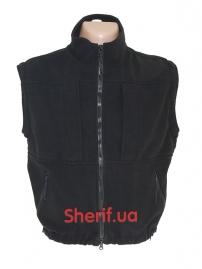 Куртка полицейская с флисовой подкладкой Black-13