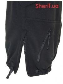 Куртка полицейская с флисовой подкладкой Black-14