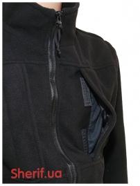 Куртка полицейская с флисовой подкладкой Black-15