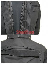 Куртка полицейская с флисовой подкладкой Black6