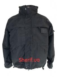 Куртка полицейская с флисовой подкладкой Black