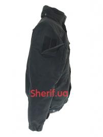 Куртка полицейская с флисовой подкладкой Black-3