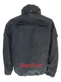 Куртка полицейская с флисовой подкладкой Black-4