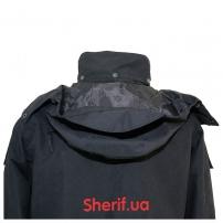Куртка полицейская с флисовой подкладкой Black-5