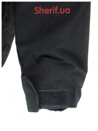 Куртка полицейская с флисовой подкладкой Black-8