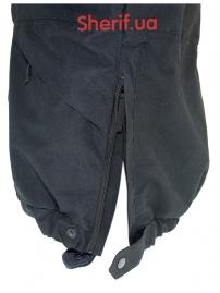 Куртка полицейская с флисовой подкладкой Black-9