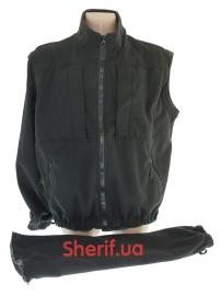Куртка полицейская с флисовой подкладкой Black-12