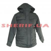 Куртка-бушлат Полиция зимняя с подкладкой Black
