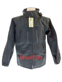 Куртка тактическая MIL-TEC Softshell PCU Black