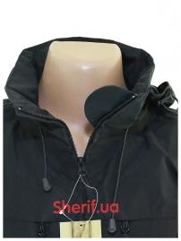 Куртка тактическая MIL-TEC Softshell PCU Black-6