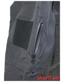 Куртка тактическая MIL-TEC Softshell PCU Black-7