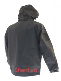 Куртка тактическая MIL-TEC Softshell PCU Black-2