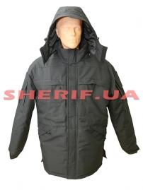 Куртка зимняя Полиция/Охрана черная