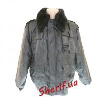 Куртка зимняя Титан Black (cъемный мех)