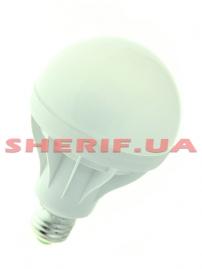 Лампа светодиодная G85 Е27 15W круглая- 8