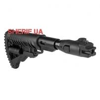 Приклад Fab Defence для АК-47 с амортизирующей прокладкой (полимерный соединитель)