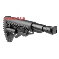 Сложный раздвижной приклад Fab Defence (полимер) для Saiga с амортизирующей прокладкой
