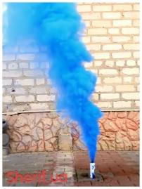 Дымный факел Синий 35сек