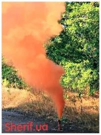Дымный факел Оранжевый 60сек