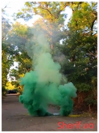 Дымный факел Зеленый 60сек DUPLEX