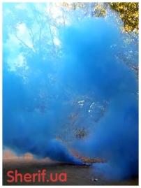 Дымный факел Синий  60сек DUPLEX