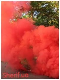 Дымный факел Красный 60сек DUPLEX