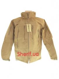 Куртка тактическая MIL-TEC Softshell PCU Coyote