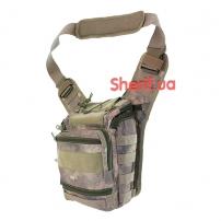 Сумка через плечо ML-Tactic EDC Hiking Bag A-TACS AU