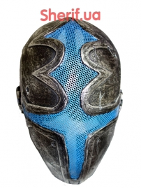 Маска FMA Wire Mesh Cross the king Mask Silver