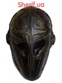 Маска FMA Wire Mesh Templar Mask Gold