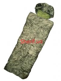 Спальный мешок-одеяло Max Fuchs двухслойный Hollow Fiber Olive