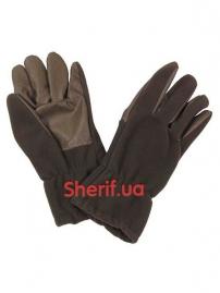 Перчатки флисовые Max Fuchs Thinsulate Gray