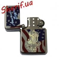 Зажигалка бензиновая MIL-TEC American Flag v4, 15223040