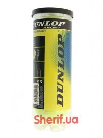Мячи для большого тенниса Dunlop 3шт