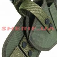 Набедренная кобура Форт 17 с чехлом Olive-4