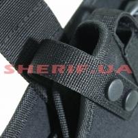 Набедренная кобура ПМ с чехлом черная-4