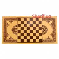 Нарды+шахматы деревянные 50см-3