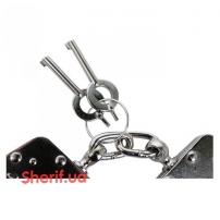 Наручники MIL-TEC металлические с двумя замками-3