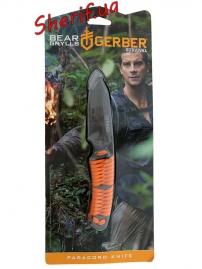 Нож Gerber Bear Grylls Survival Paracord Knife (блистер), 31-001683-2
