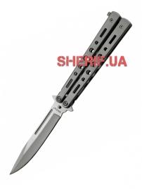 Нож Grand Way балисонг-бабочка 15084 R (silver)