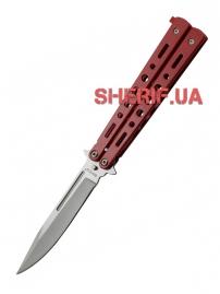 Нож Grand Way балисонг-бабочка 15084 W (red)